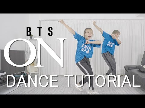[Mirrored] BTS (방탄소년단) - ON Dance Tutorial #BAHASA | Step by Step ID