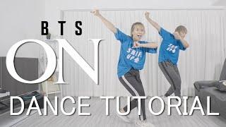 [Mirrored] BTS (방탄소년단) - ON Dance Tutorial #BAHASA | Step by Step ID