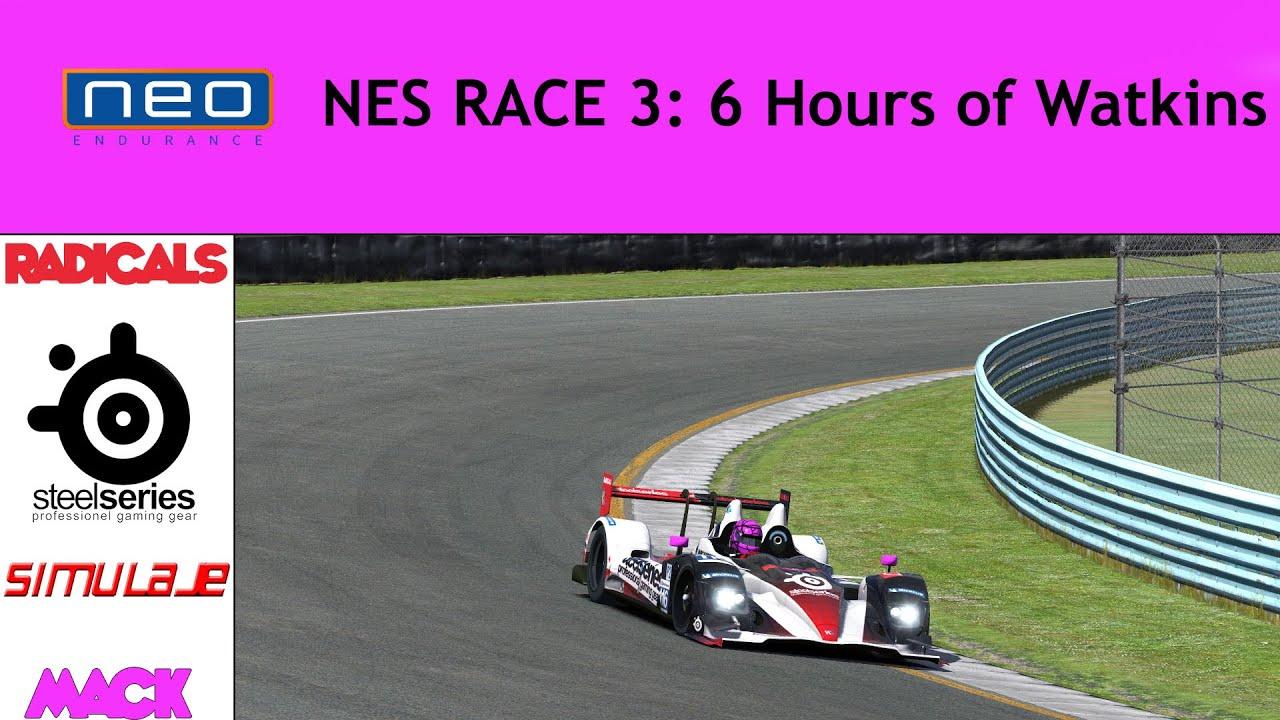 NEO Endurance Series 2 - #3 Watkins Glen - Mack onboard