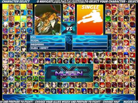 how to make your own mugen screenpack