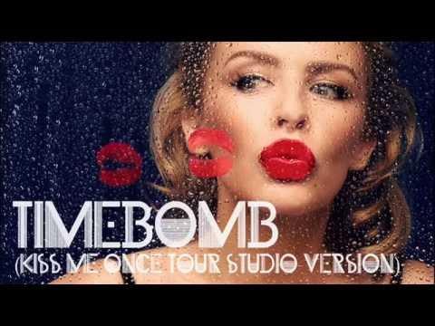 Kylie Minogue - Timebomb (Kiss Me Once tour studio version)