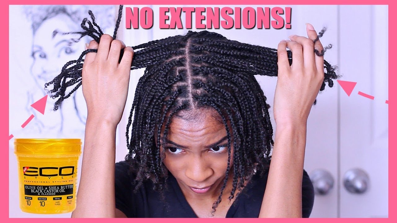 Braids And Twists For Afro Black Hair