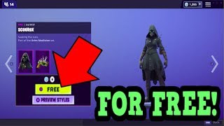 HOW TO GET SCOURGE SKIN FOR FREE! (Fortnite Old Skins)