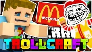 Minecraft | THE MC DONALDS TROLL!! - Troll Craft