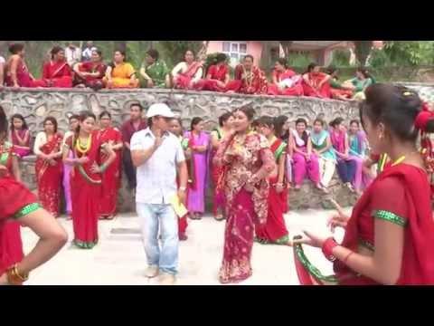 Making of Chhamma Chhamma Teej Song SHOOTING REPORT |Bindabasini Music