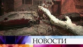 Более половины месячной нормы осадков выпало в Москве за сутки.