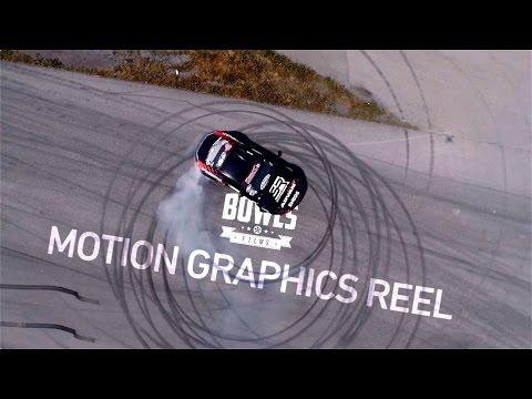 BOWLS Films Motion Graphics Reel
