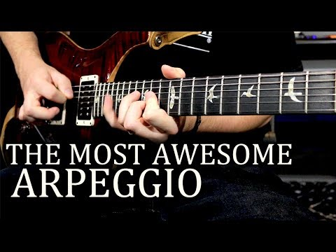 The Awesome Guitar Arpeggio is Awesome