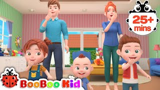 Please And Thank You + More Nursery Rhymes & Kids Songs | Boo Boo Kid