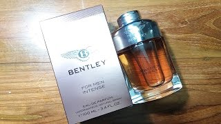 Bentley For Men Intense Fragrance Review