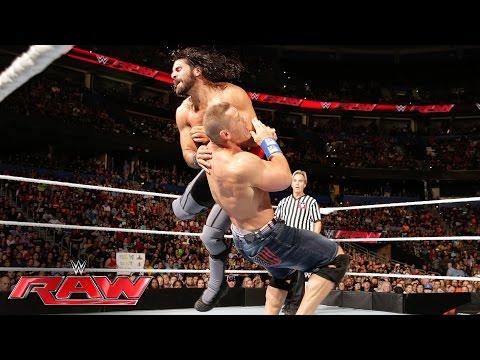 John Cena Vs. Seth Rollins: Raw, 27. Juni 2016