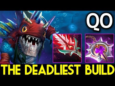 QO Dota 2 [Slark] The Deadliest Build ► Nullifier + Bloodthorn