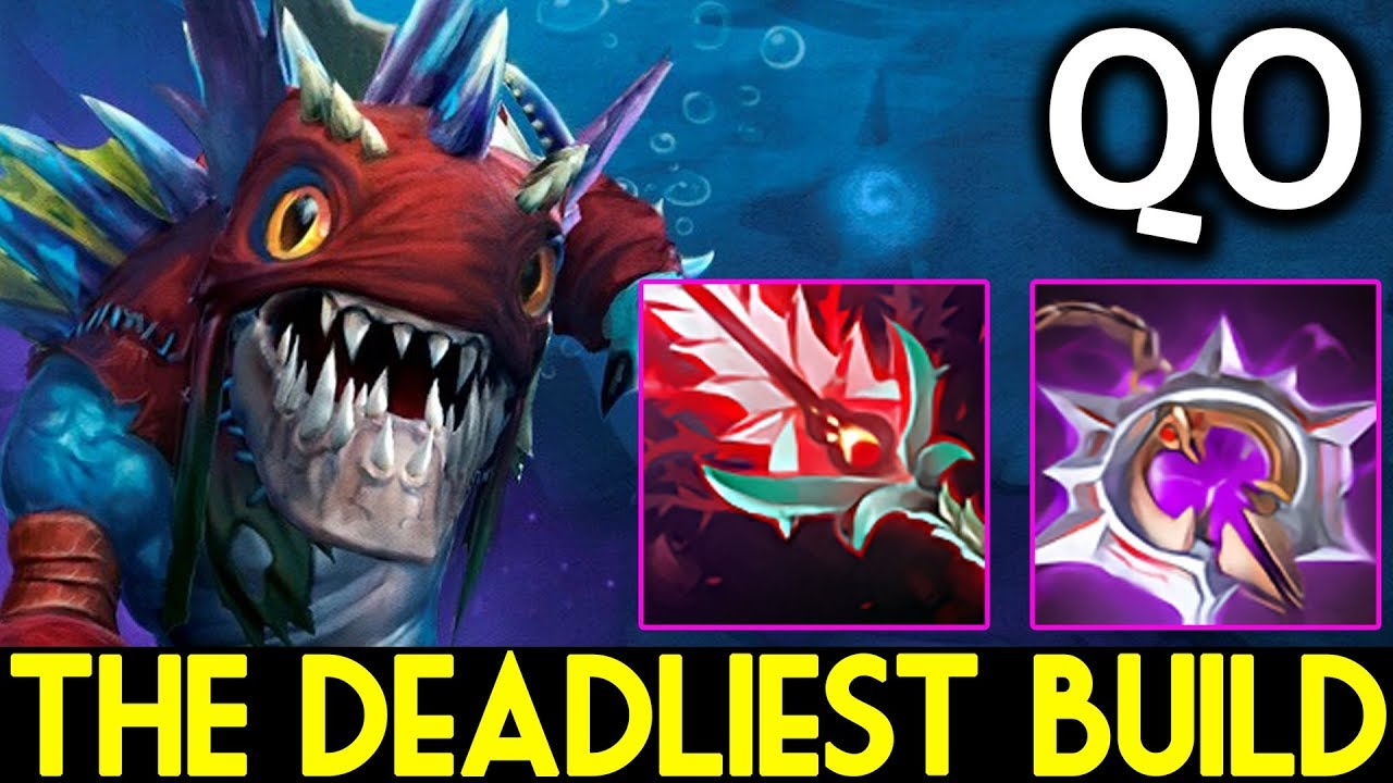 QO Dota 2 Slark The Deadliest Build Nullifier Bloodthorn YouTube