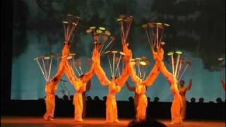 "The Shanghai circus. 上海雑伎 ""Yunfeng"" circus studium."