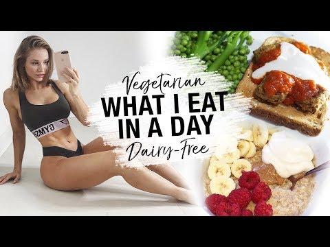 FULL DAY OF EATING | Vegetarian Dairy-Free