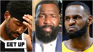 'It is flat-out disrespectful!' - Kendrick Perkins & JWill react to Kyrie Irving's comments   Get Up