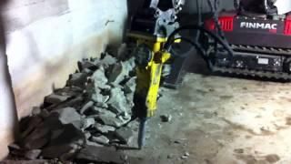 видео Демонтаж и разборка бетонного пола: цены и технология
