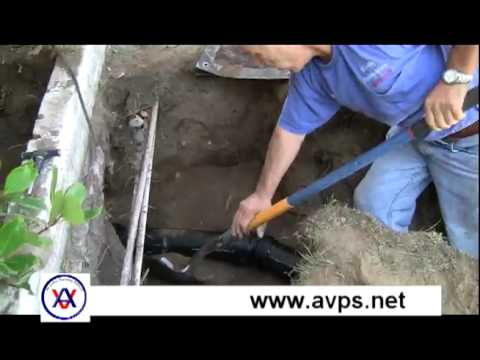 Main Sewer Line Replacement from All Valley Plumbing
