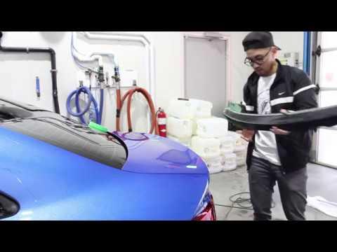 EMD Auto Pure Carbon Spoiler DIY Install Audi S3/A3