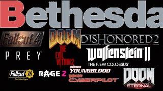 Every Bethesda Game Remix(2015-E3 2018) | All Games
