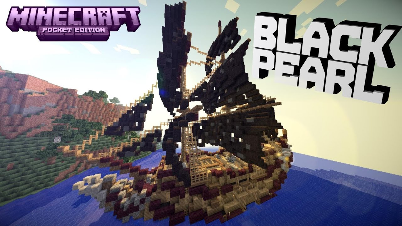 081Minecraft PE Pirate Ship Black Pearl DOWNLOAD YouTube