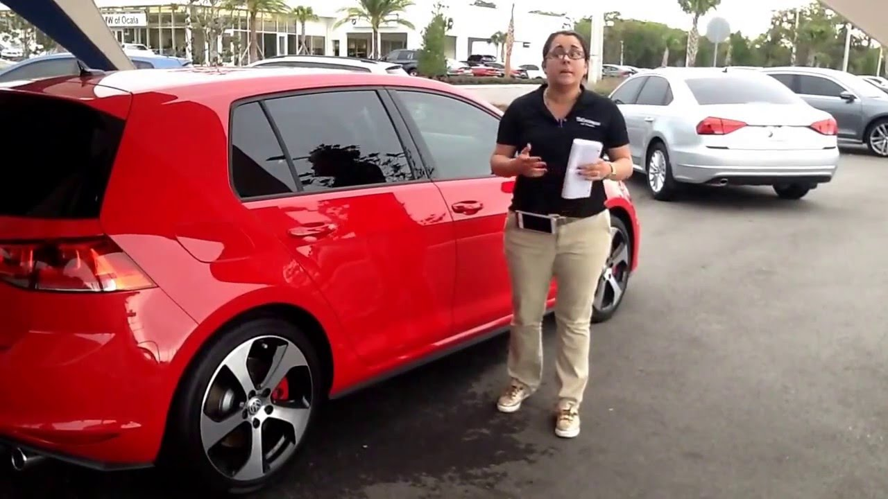 2016 golf gti autobahn w performance package 4 door christine garcia youtube. Black Bedroom Furniture Sets. Home Design Ideas