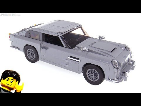 LEGO Creator James Bond Aston Martin DB5 review 10262