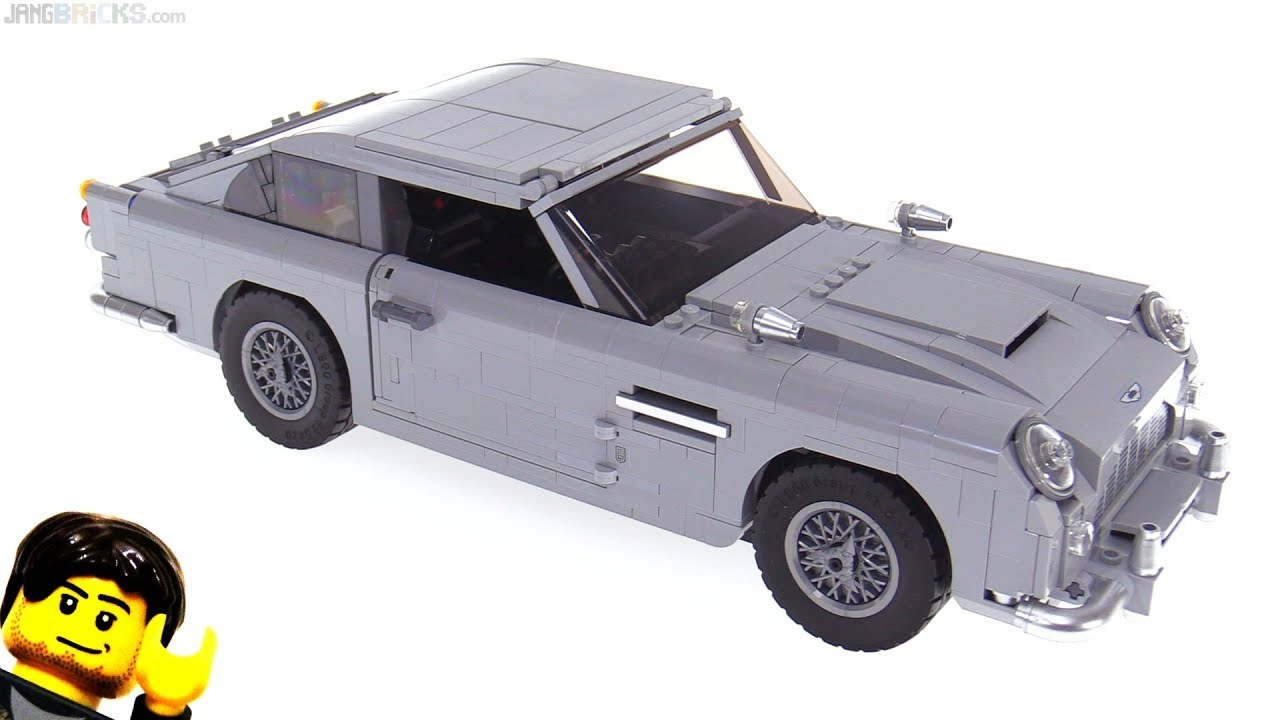 LEGO Creator James Bond Aston Martin DB5 review! 10262