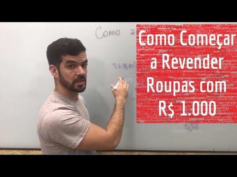 3c9c8f553 Como começar a revender roupas com R  1.000 mil reais - YouTube