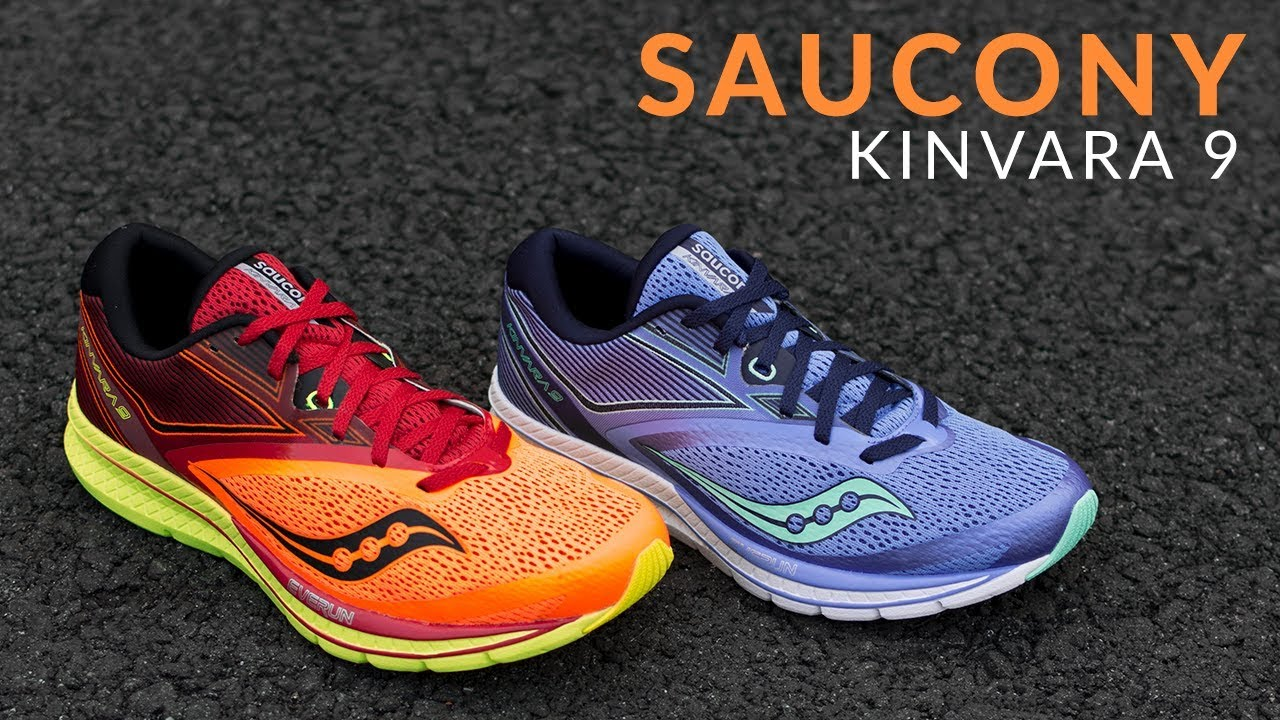 new concept a9c66 61537 Saucony Kinvara 9 - Running Shoe Overview
