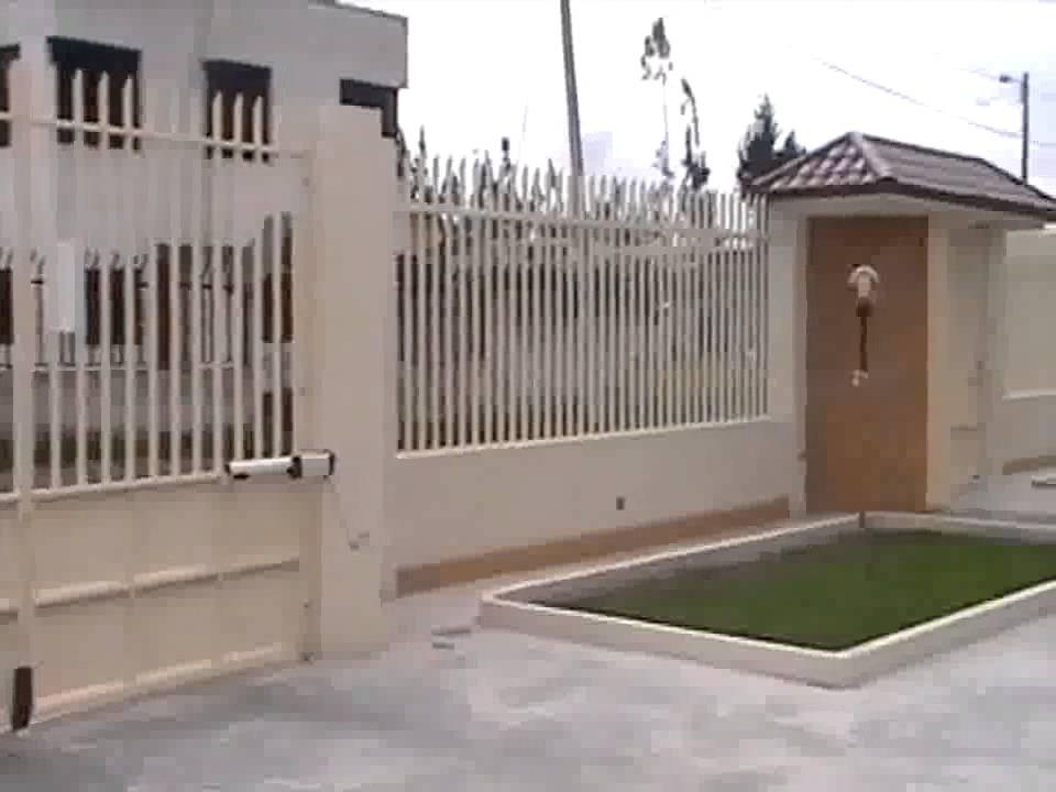 Cerramiento duracero ecuador youtube - Cerramientos de casas ...