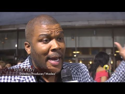 """Tyler Perry tells Spike Lee and other critics to """"Go to Hell"""" at Madea's Big Happy Family Red Carpet"""