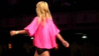 aubrey o day walking in the richie rich fashion show new york fashion week 2 18 09
