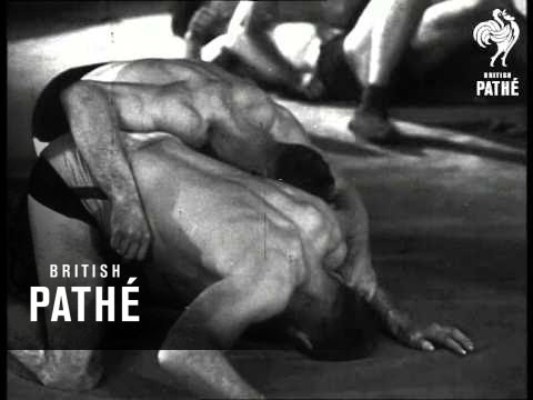 Wrestling Aka How To Wrestle (1947)