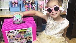 Куклы LOL Surprise Новая кукла ЛОЛ Алина показывает свою коллекцию кукол Video for kids