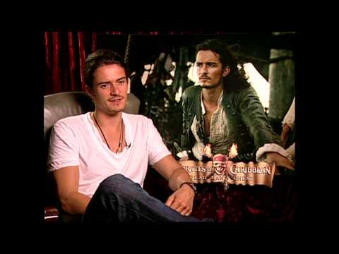 """Pirates Of The Caribbean Dead Man's Chest: Orlando Bloom """"Will Turner"""" Exclusive Interview"""