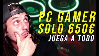 pc gamer Ryzen 3 2200g con pruebas