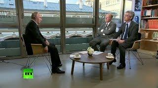 Путин поделился впечатлениями от первой личной встречи с новоизбранным президентом Франции