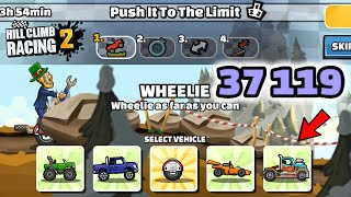 Hill Climb Racing 2 - 37119 points in PUSH IT TO THE LIMIT Team Event