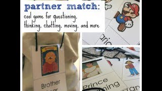 partner match game | ideas for teaching & learning | teachmama.com