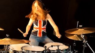 Won't Get Fooled Again (The Who); drum cover by Sina