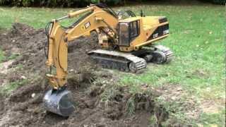 RC DIGGER CAT 375 L CATTARPILLAR EXGAVATOR L CONSTRUCTION! Rc Live Action Models