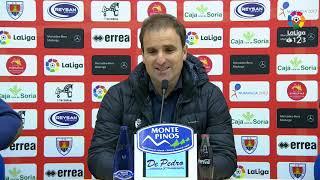 Rueda de prensa de Jagoba Arrasate tras el CD Numancia vs CA Osasuna (1-1)