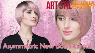Asymmetric New Bob Haircut