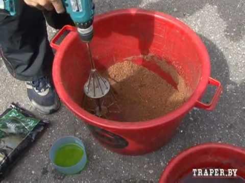 каша для прикормки плотвы летом на удочку