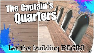 Creating Miniature Wood Textures: Walls for the Captains Quarters