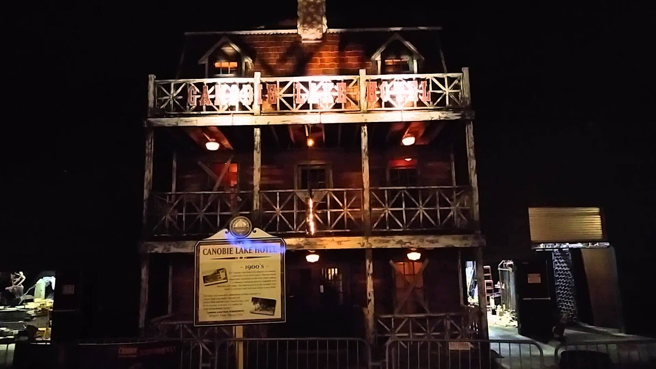 Canobie Hotel Haunted House Lighting Effect
