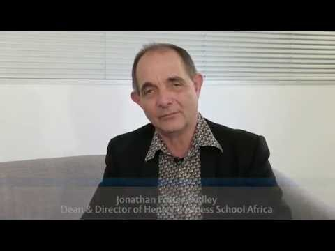 Jonathan Foster-Pedley on living and working in Africa