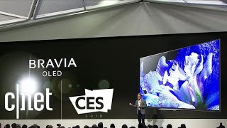 See highlights from Sony's CES 2018 presser