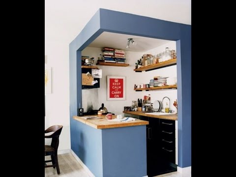79 mostly small kitchen design ideas youtube for Small kitchen design pictures philippines